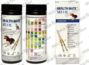 Тест-полоска для анализа мочи по биохимическим показателям Health Mate VET-11C